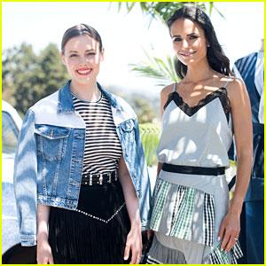 Kate Hudson Helps Launch Demi Lovato S Fabletics