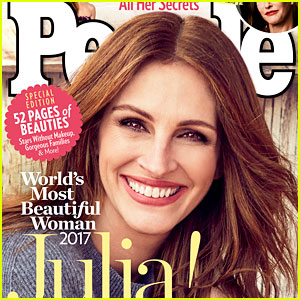 Julia Roberts Named World's Most Beautiful Woman for Record 5th Time!