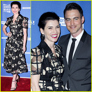 Julianna Margulies & Husband Keith Lieberthal Couple Up for Series Mania Festival in Paris