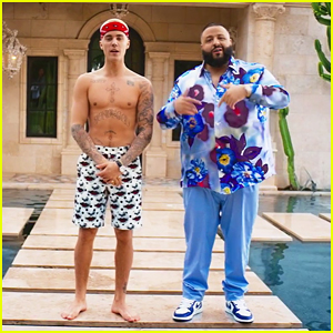 Justin Bieber Goes Shirtless In DJ Khaled 'I'm The One' Music Video - Watch Here!