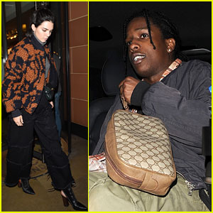 Kendall Jenner & A$AP Rocky Couple Up for Date Night