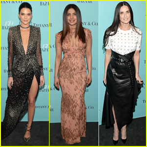Kendall Jenner Lights Up the Empire State Building at Harper's Bazaar Party!
