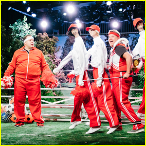 Kevin James & James Corden Play Embarrassing Sports Dads On 'Late Late Show' Sketch - Watch Here!