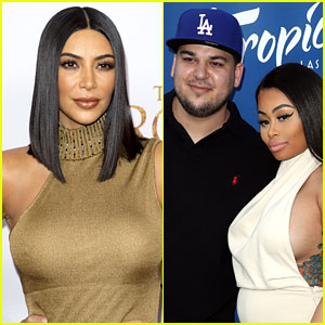 Kim Kardashian Calls Out Blac Chyna, Says She & Rob Are 'Just Not Meant to Be' (Video)