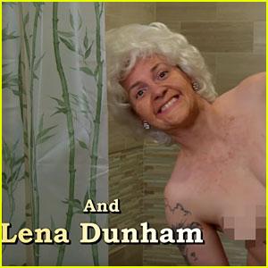 Lena Dunham & 'Girls' Cast Spoof 'Golden Girls' for 'Kimmel'