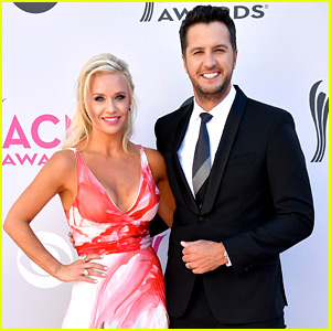Luke Bryan & Wife Caroline Boyer Attend the ACM Awards 2017