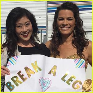 Nancy Kerrigan & Kristi Yamaguchi Poke Fun at 'Break a Leg' Tweet