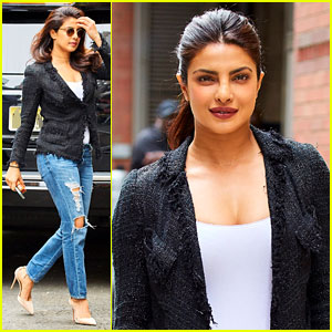 Priyanka Chopra Gets Ready to Leave NYC After Wrapping 'Quantico' Filming