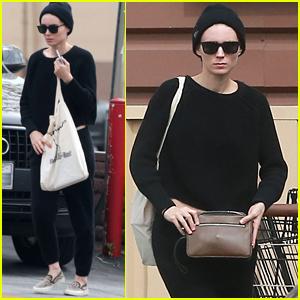 Rooney Mara Goes Grocery Shopping in Los Feliz