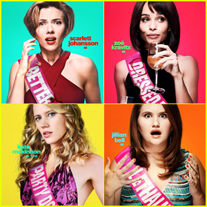 Scarlett Johansson & Her Bachelorette Party Crew Get 'Rough Night' Character Posters!