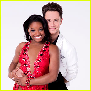 Simone Biles Scores Big During 'DWTS' Vegas Week - Watch Now!