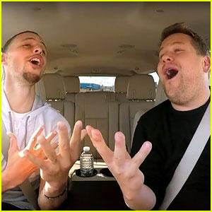 Stephen Curry & James Corden Sing 'Moana' & 'Frozen' for 'Carpool Karaoke' - Watch Now!