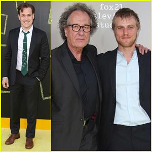 T.R. Knight & Geoffrey Rush Reunite Ahead Of 'Genius' Premiere - Watch Extended Trailer!