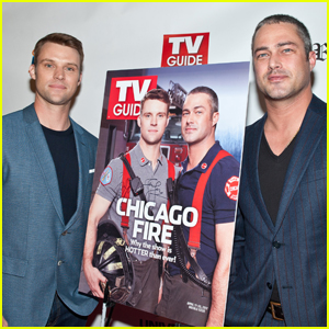 Taylor Kinney & Jesse Spencer Celebrate Their 'TV Guide' Cover