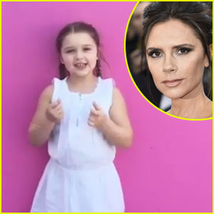 Harper Beckham, 5, Sings Happy Birthday to Mom Victoria in Adorable Video - Watch Now!