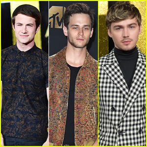 Dylan Minnette, Brandon Flynn, & Miles Heizer Bring '13 Reasons Why' To MTV Movie & TV Awards 2017