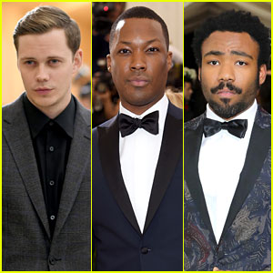 Bill Skarsgard, Corey Hawkins, & Donald Glover Suit Up for Met Gala 2017