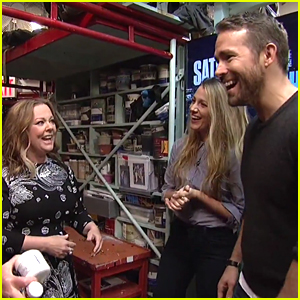 Blake Lively & Ryan Reynolds Make Surprise Appearance in 'SNL' Monologue - Watch!