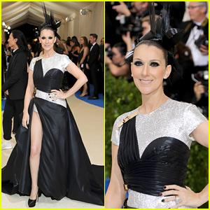 Celine Dion Makes Her Met Gala Debut in Versace!