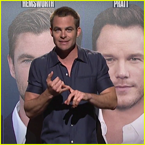 Chris Pine Tries to Prove He's Not Chris Hemsworth or Chris Pratt in 'SNL' Monologue - Watch!
