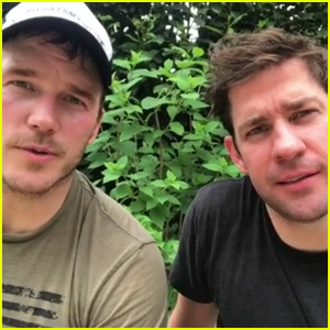 Chris Pratt & John Krasinski Commemorate Fallen Navy SEAL on Memorial Day