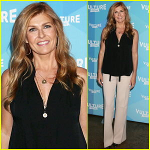 Connie Britton Says Larry King Hit on Her While Filming 'American Crime Story'!