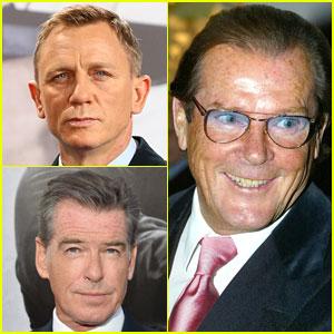 Daniel Craig & Pierce Brosnan React to Roger Moore's Death