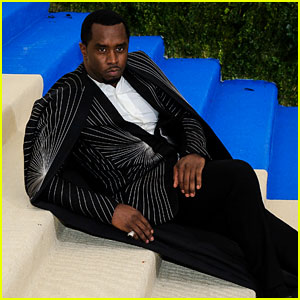 Diddy Explains Why He Laid on the Met Gala Stairs!