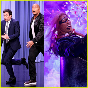 Dwayne Johnson Plays 'Blow Your Mind' with Jimmy Fallon - Watch Now!