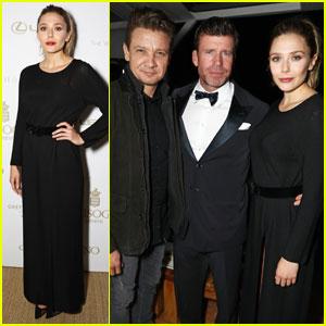 Elizabeth Olsen Changes Her Look For 'Wind River' After-Party