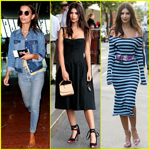 Emily Ratajkowski Leaves Cannes After Showing Off Her French Fashion