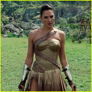 Gal Gadot Shows Off Her Sword-Fighting Skills in Two New 'Wonder Woman' Clips - Watch Now! (Video)