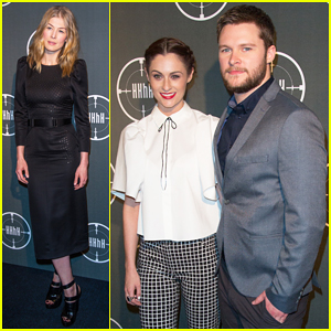 Jack Reynor & Madeline Mulqueen Couple Up At 'The Man With The Iron Heart' Paris Premiere!