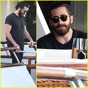 Jake Gyllenhaal Kicks Back in Cannes After 'Okja' Premiere