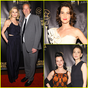 Jennifer Morrison, Matthew Perry & Cobie Smulders Step Out For Lucille Lortel Awards 2017 - See Full Winners List Here!