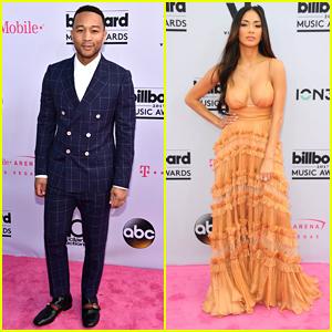 John Legend & Nicole Scherzinger Arrive in Style for Billboard Music Awards 2017