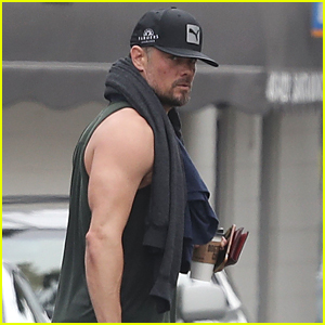 Josh Duhamel Shows Off His Buff Biceps After a Workout!