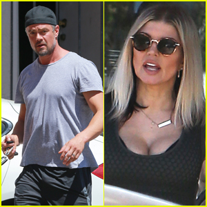 Josh Duhamel & Fergie Step Out Separately Over the Weekend