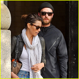 Justin Timberlake & Jessica Biel Spend Time in New York City