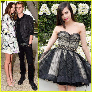 Kaia Gerber Celebrates Her 'Marc Jacobs' Campaign With Brother Presley, Sofia Carson & More!