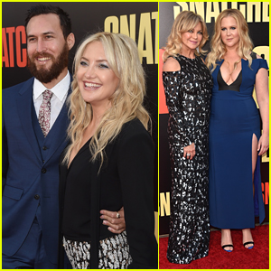 Kate Hudson & Boyfriend Danny Fujikawa Make Their Red Carpet Debut at 'Snatched' Premiere!