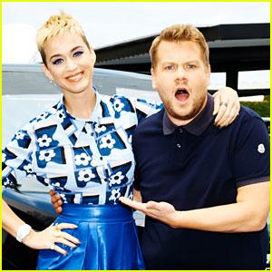 Katy Perry's 'Carpool Karaoke' Video with James Corden - WATCH NOW!