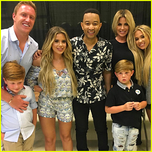 Kim Zolciak & Her Family Meet John Legend After Offering Oral Sex for Tickets