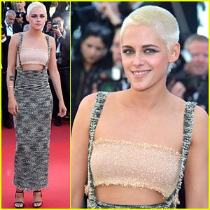 Kristen Stewart Looks So Chic in Cannes, Talks About Breaking the Dress Code (Video)