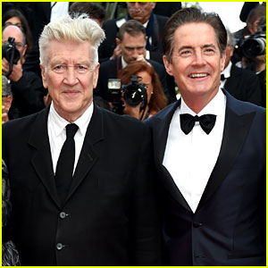 Kyle MacLachlan Joins David Lynch in Cannes for 'Twin Peaks' Premiere!