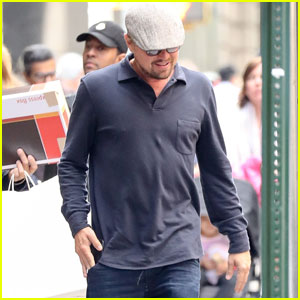 Leonardo DiCaprio is Low-Key For Upper East Side Lunch