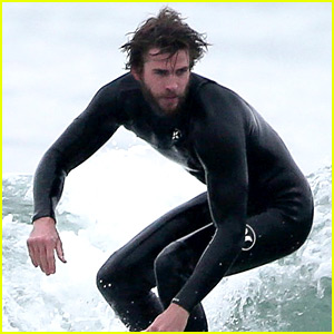 Liam Hemsworth Hits the Waves to Kick Off His Weekend!