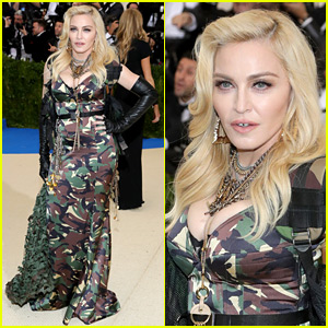 Madonna's Met Gala 2017 Look Is Army Chic!