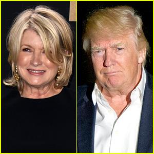 Martha Stewart Throws Middle Finger Up at Trump Portrait