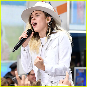 Miley Cyrus Debuts New Song 'Inspired' During 'Today' Concert (Video)